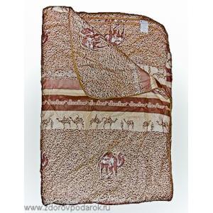 Одеяло двухспальное стеганное из верблюжьего пуха