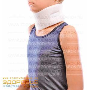 Бандаж на шейный отдел позвоночника (для детей от 1 года)