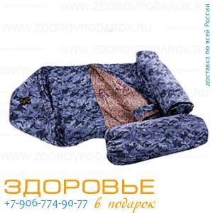 Спальный мешок Доктор из верблюжьей шерсти, двухслойный