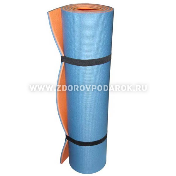 Коврик туристический Изолон-Трейд синий
