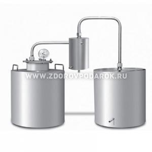 Дистиллятор  Ольховый дым Дачный с сухопарником ДДС-1