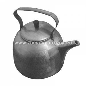 Чайник армейский алюминиевый 3 литра