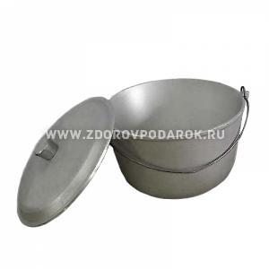 Котел литой БАЛЕЗИНО 6л с крышкой-сковородкой