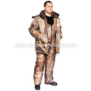 Костюм для зимней охоты и рыбалки Prival Лесник