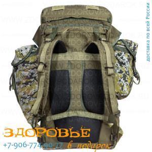 Рюкзак рейдовый 75л MOLLE из рюкзачной ткани