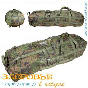 """СТ110 Сумка транспортная 110л из рюкзачной ткани """"Ягель"""""""