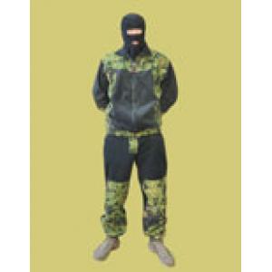 Куртка флисовая легкая Автоном с накладками из ткани рип-стоп